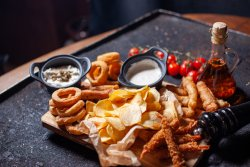 Fish and Chips Board image
