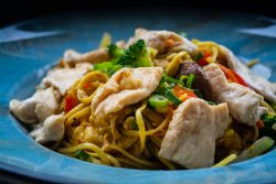Chicken Noodles image