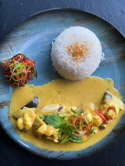 Laksa curry chicken (pui) image