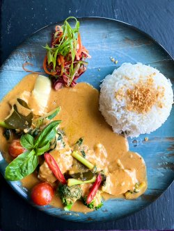 Penang curry chicken (pui) image