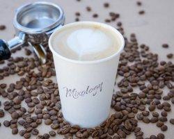 Coconut latte image