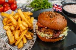 Burger Oval de vită image
