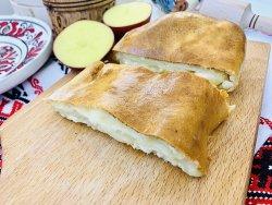 Plăcintă cu cartofi și telemea image