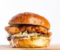 Deep Fried Chicken Burger image