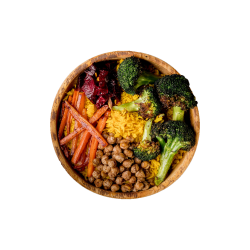 Root Bowl with Broccoli image