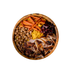 Root Bowl with Pulled Pork image