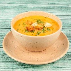 Supă cremă de legume, cu crutoane aromate image
