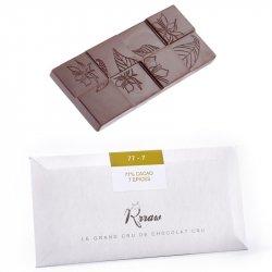Tabletă de ciocolată crudă cu condimente (77-7) image