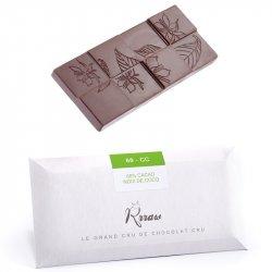 Tabletă de ciocolată crudă cu nucă de cocos (68-CC) image