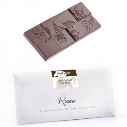 Tabletă de ciocolată crudă 100% cacao (PUR-100) image