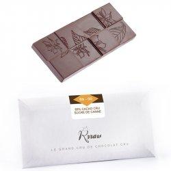 Tabletă de ciocolată crudă cu zahăr integral din trestie (69-00) image