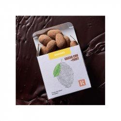 Boabe de cacao învelite în ciocolată crudă + ANANAS image