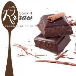 Ciocolată crudă de patiserie 70% cu zahăr integral din trestie image