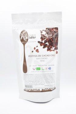 Fulgi din boabe de cacao crude image