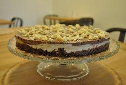 Tort de vanilie cu ciocolata image