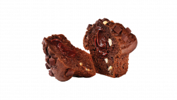 Brioșă cu ciocolată din abundență image