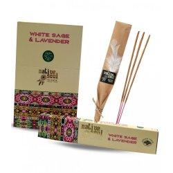 Bețișoare parfumate Native Soul White Sage & Lavender