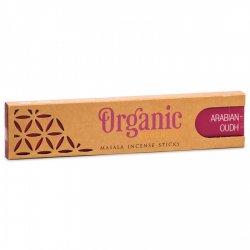 Bețișoare Parfumate Organic Masala - Arabian Oudh