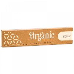 Bețișoare parfumate Organic Masala - iasomie
