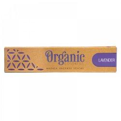 Bețișoare parfumate Organic Masala - lavandă