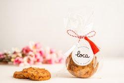Cookies cu zmeură și ciocolată albă (low carb / sugar-free) image