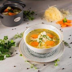 Supă de pui cu fidea 400g image