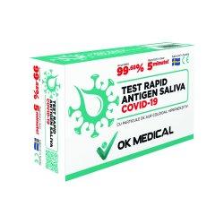 Test rapid Antigen Covid-19 salivă image