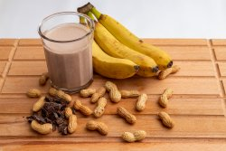 Smoothie de snickers image