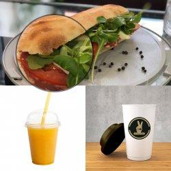 Sandwich + Fresh + Espresso  image