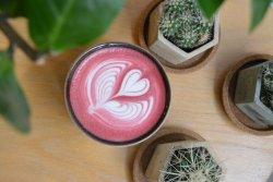 Beetroot Latte image