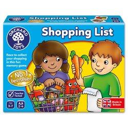 Joc educativ în limba engleză - Lista de cumpărături - Shopping List - Orchard Toys