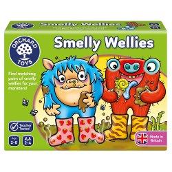 Joc educativ - Cizmulițele de Cauciuc - Smelly Wellies - Orchard Toys