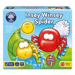 Joc educativ - Cursa Păianjenilor - Insey Winsey Spider - Orchard Toys