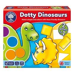 Joc educativ Dinozaurii cu pete - Dotty Dinosaurs - Orchard Toys