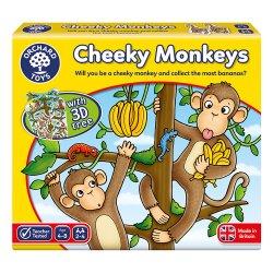 Joc educativ - Cheeky Monkeys - Orchard Toys