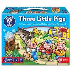 Joc de societate - Cei Trei Purceluși - Three Little Pigs - Orchard Toys
