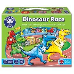 Joc de societate - Întrecerea Dinozaurilor - Dinosaur Race - Orchard Toys