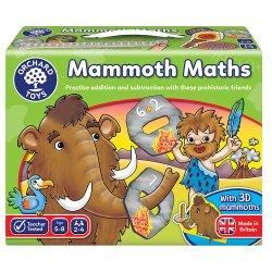 Joc educativ - Matematica Mamuților - Mammoth Maths - Orchard Toys