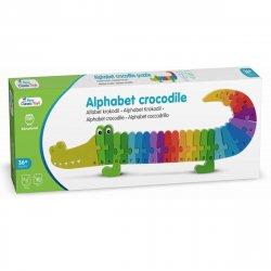 Puzzle Alfabet - Crocodil - New Classic Toys