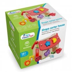 Căsuță cu forme - Shape Sorter - New Classic Toys