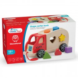 Camion Shape Sorter cu 6 forme - New Classic Toys