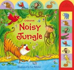 Carte pentru copii - Noisy Jungle - Usborne image