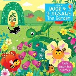 Carte cu Puzzle - The Garden - Usborne image