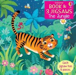 Carte cu Puzzle - The Jungle - Usborne image