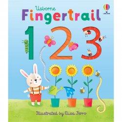 Carte pentru copii - Fingertrail 123 - Usborne image