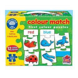 Puzzle în limba engleză - Învață culorile prin asociere - Colour Match - Orchard Toys