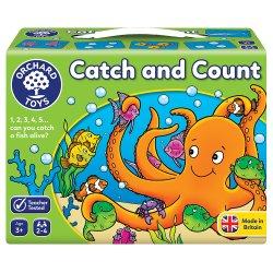 Joc educativ Prinde și Numără - Catch and Count - Orchard Toys