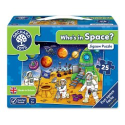 Puzzle Spațiul Cosmic - Who`s in Space - Orchard Toys