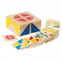 Puzzle din lemn Kubus Goki image