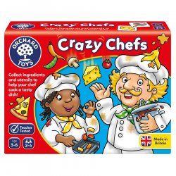 Joc educativ Bucătarii Năzdrăvani - Crazy Chefs - Orchard Toys